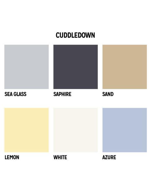 Cuddledown Sheet Colors