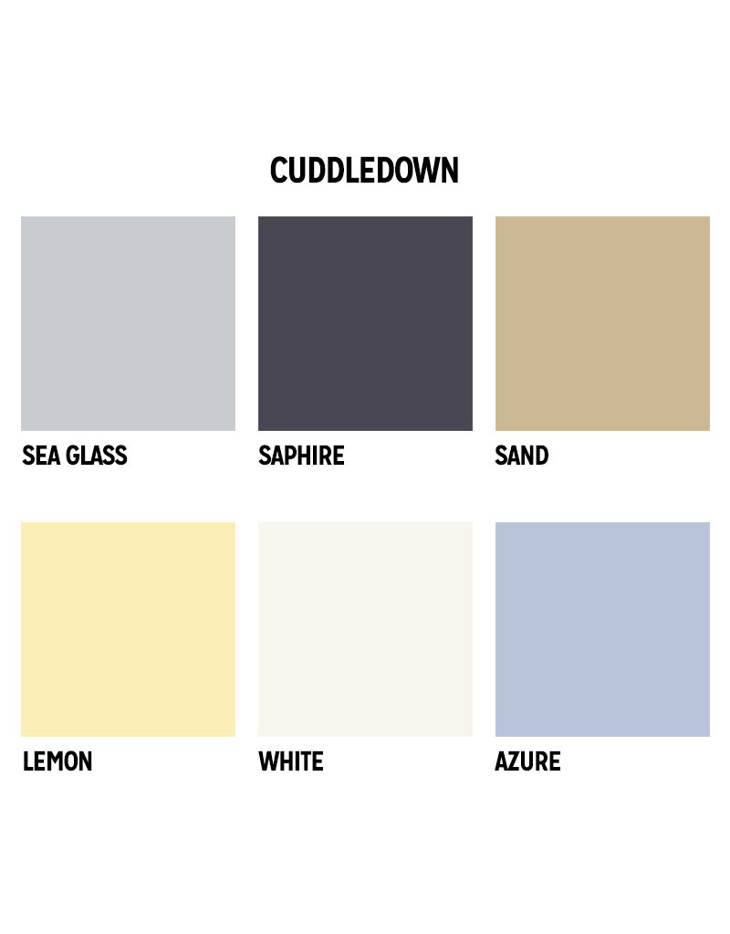 Cuddledown Sheet Colors